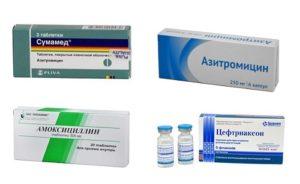 Самые эффективные детские антибиотики от кашля