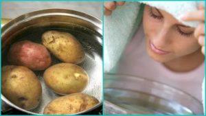 Как правильно дышать над картошкой: основные рекомендации