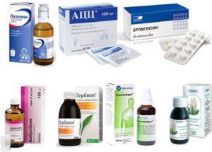 Кашель с мокротой лечение лекарствами и народными методами