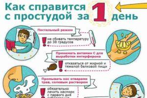 Как быстро вылечить простуду и насморк: советы и рекомендации
