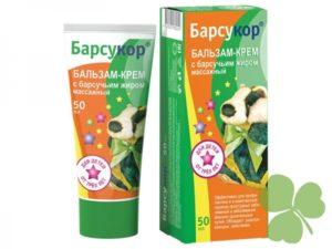 Мазь Барсучок: назначение и правила применения