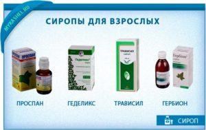 Сиропы от кашля для взрослых: особенности патологии и виды лекарственных средств