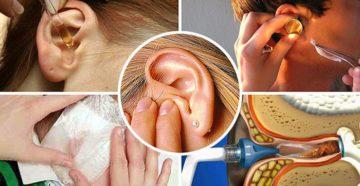 Что делать, если стреляет в ухе: лекарства, рецепты и советы