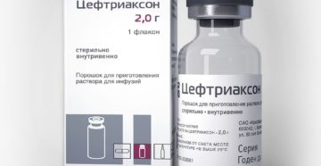 Цефтриаксон при ангине: действие и правила применения антибиотика