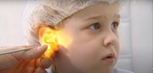 первая помощь ребенку при боли в ухе